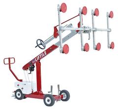 LIFTILE-механічна система на колесах для  підйому та транспортування крупноформатних плит